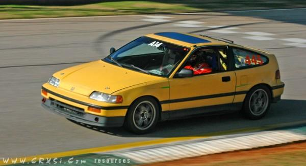 88 CRX Si track car, stripped no a/c; custom 6pt. cage w/Sparco Rev seats;