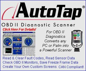 AutoTap OBD II Diagnostic Scanner