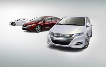 Honda Insight Concept Hybrid Vehicle